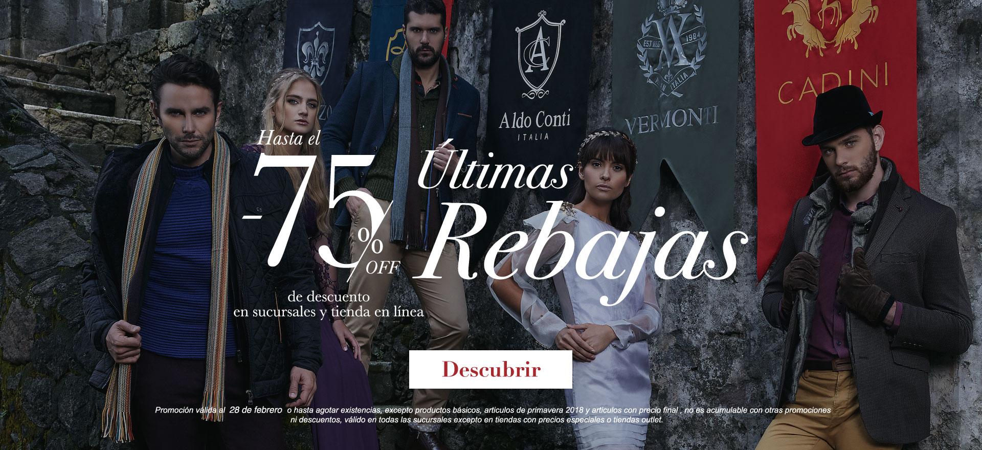 Banner Descuento Rebajas 75