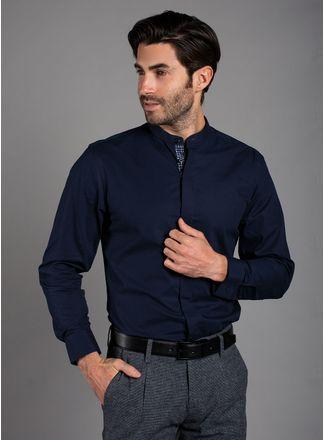 81e2326e0e Camisa Hombre - Ropa - Camisas Vermonti Mediano Azul Marino – aldoconti