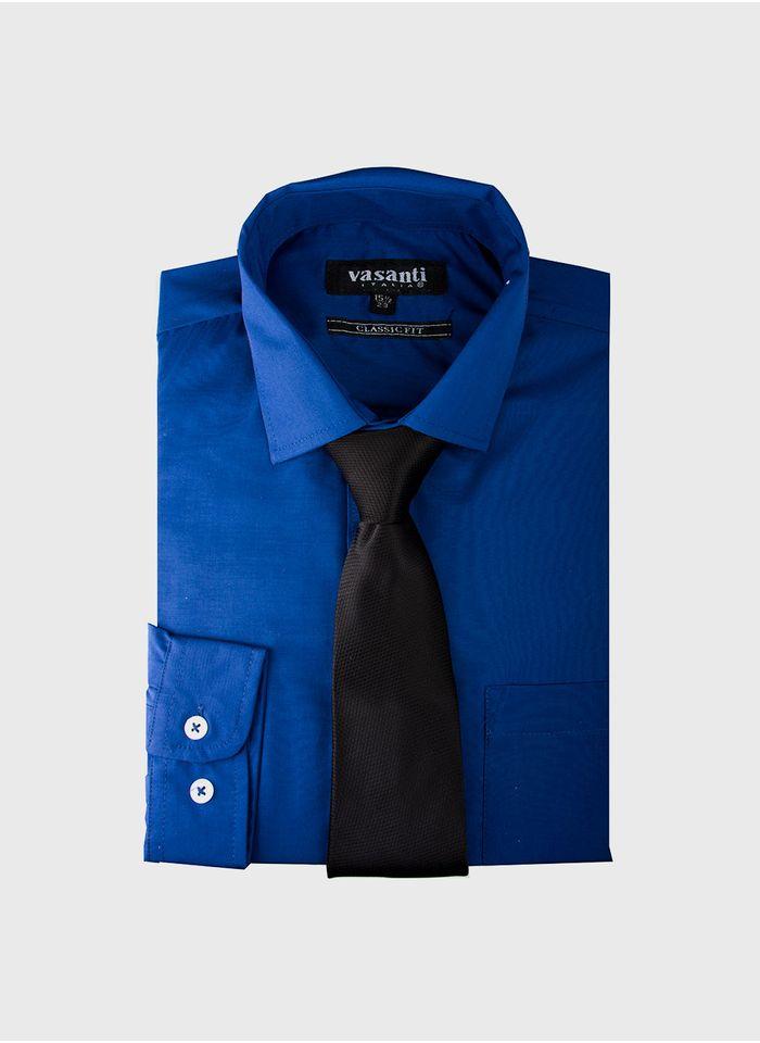 a9f97e175bbbe Camisa color azul marca vasanti jpg 700x960 Camisas color azul