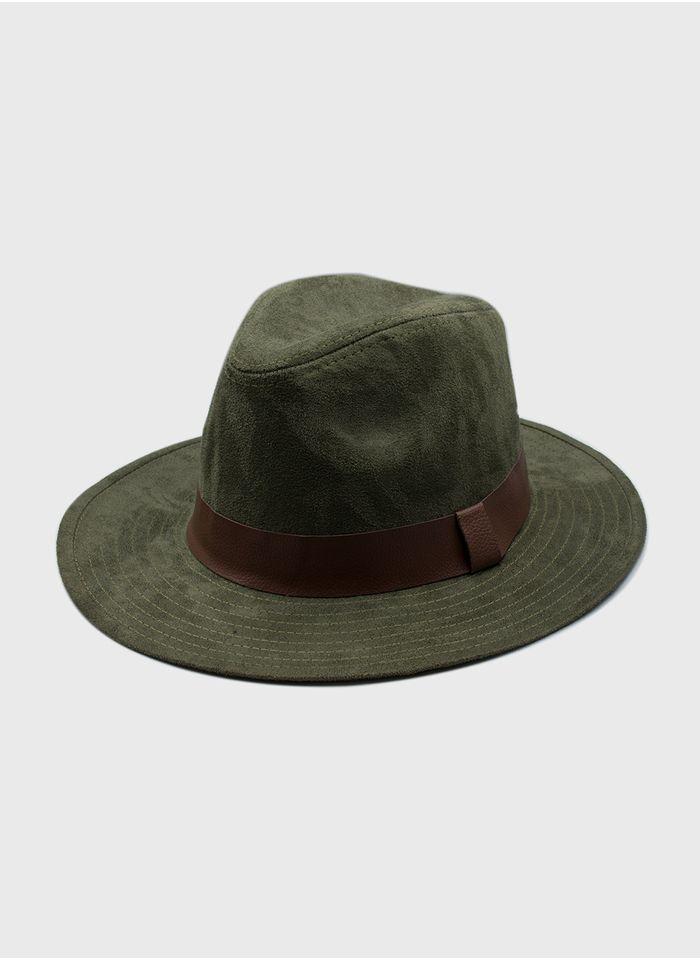 Sombrero--Accesorios-Color-Olivo-Marca-Argento
