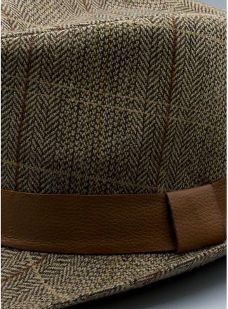 Sombrero--Accesorios-Color-Cafe-Marca-Argento