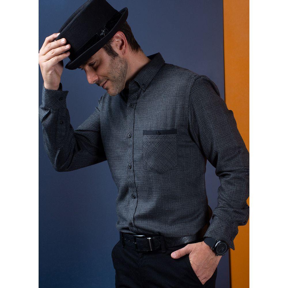 Camisa--Casual-Color-Gris-Marca-Vermonti