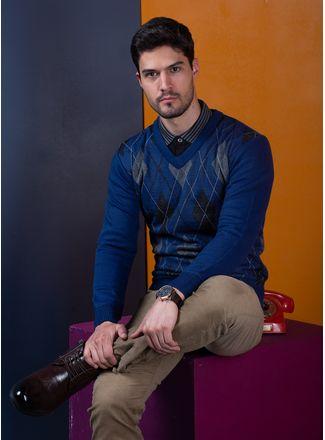 Sweater--Casual-Color-Azul-Marca-Vasanti