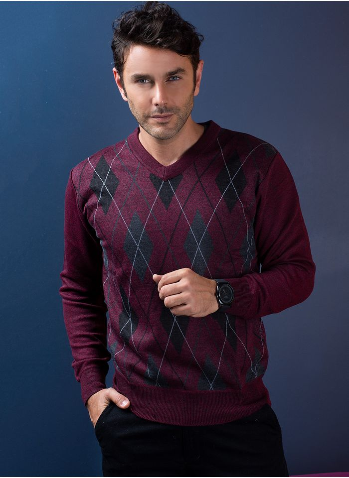Sweater--Casual-Color-VinoMarca-Vasanti