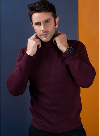 Sweater--Casual-Color-VinoMarca-Vermonti