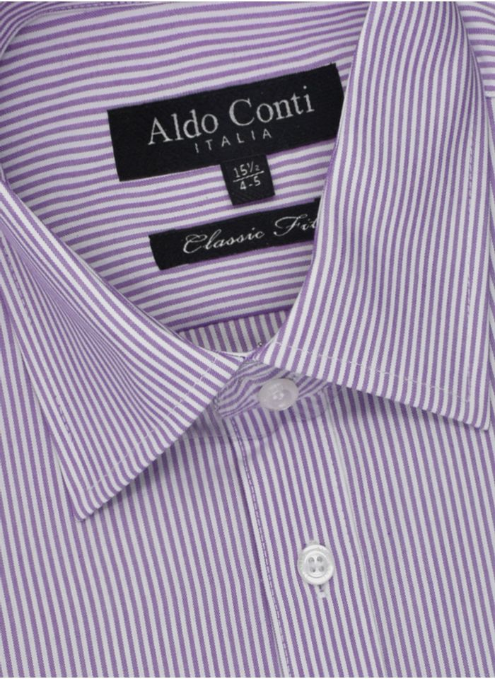 Camisa--Vestir-Color-Lila-Marca-Aldo-Conti-Black