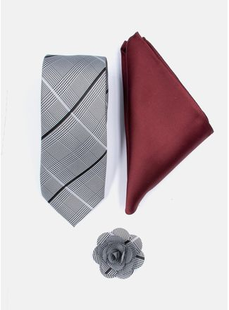 Set-Corbata-Color-Gris-Argento