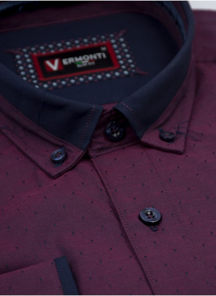 Camisa--Vestir-Color-VinoMarca-Vermonti-Super-Slim-Fit