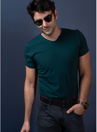 Playera--Casual-Color-Verde-Marca-Vermonti