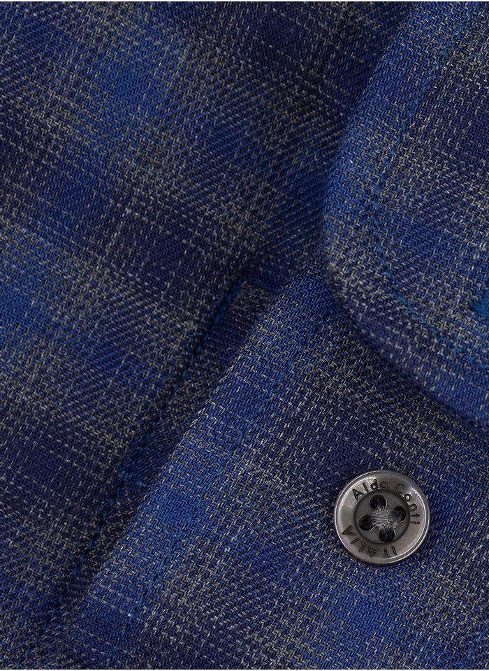 Camisa--Casual-Color-Gris-Marca-Aldo-Conti
