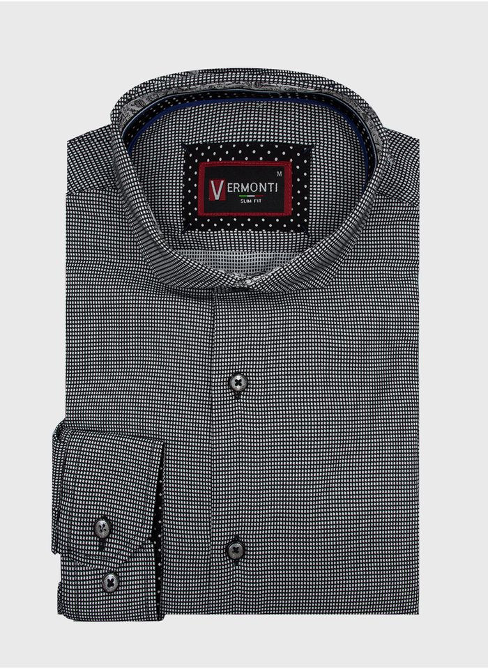 Camisa--Vestir-Color-Negro-Marca-Vermonti-Super-Slim-Fit