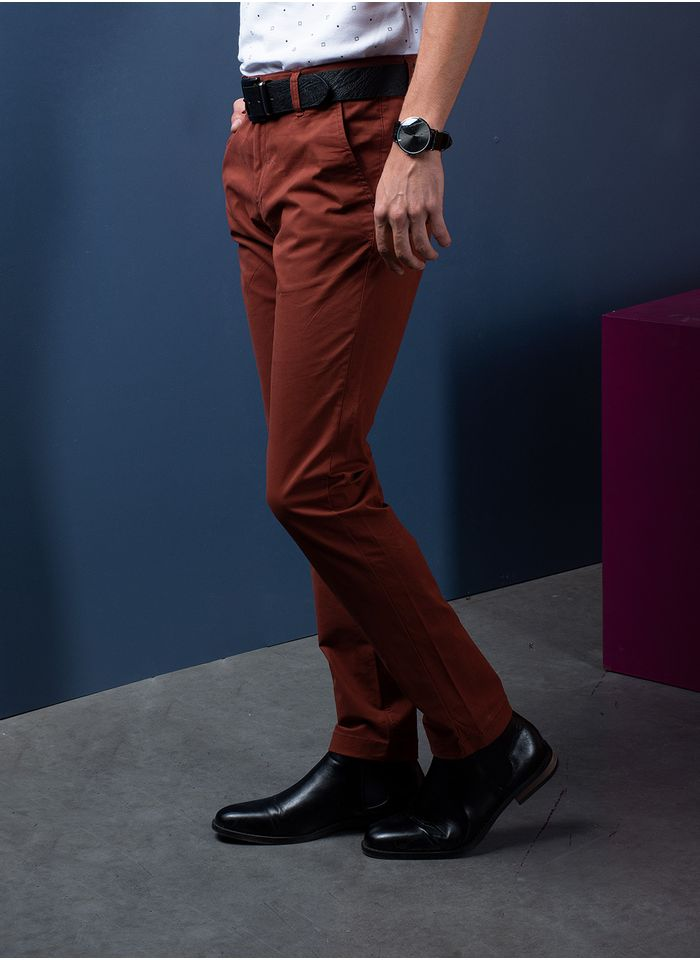 Pantalon--Casual-Color-NaranjaMarca-Aldo-Conti-Lexus