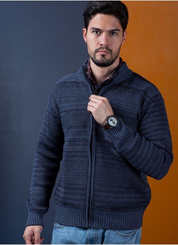 Sweater--Casual-Color-Azul-Marca-Aldo-Conti