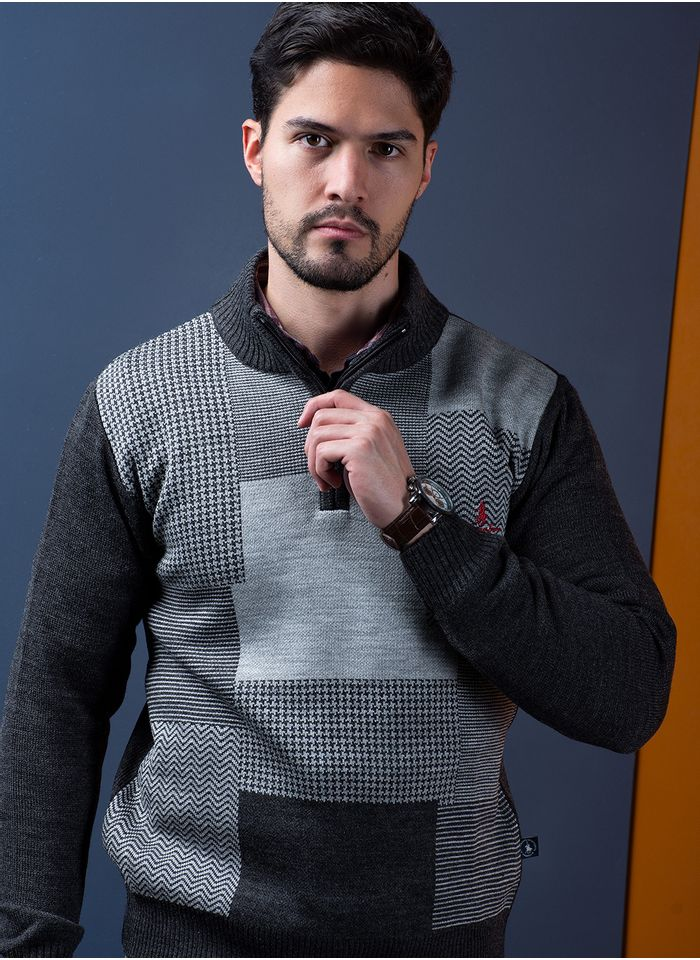 Sweater--Casual-Color-Gris-Marca-Polo-Club