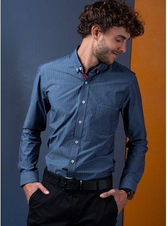 Camisa--Casual-Color-Azul-Marca-Vermonti