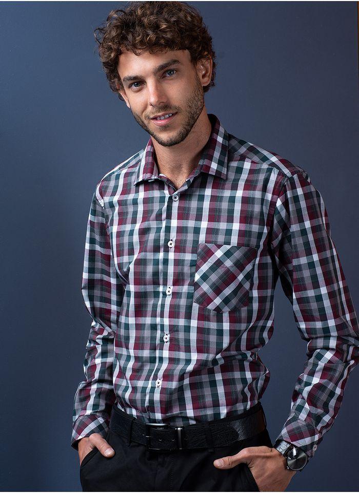 Camisa--Casual-Color-Verde-Marca-Aldo-Conti