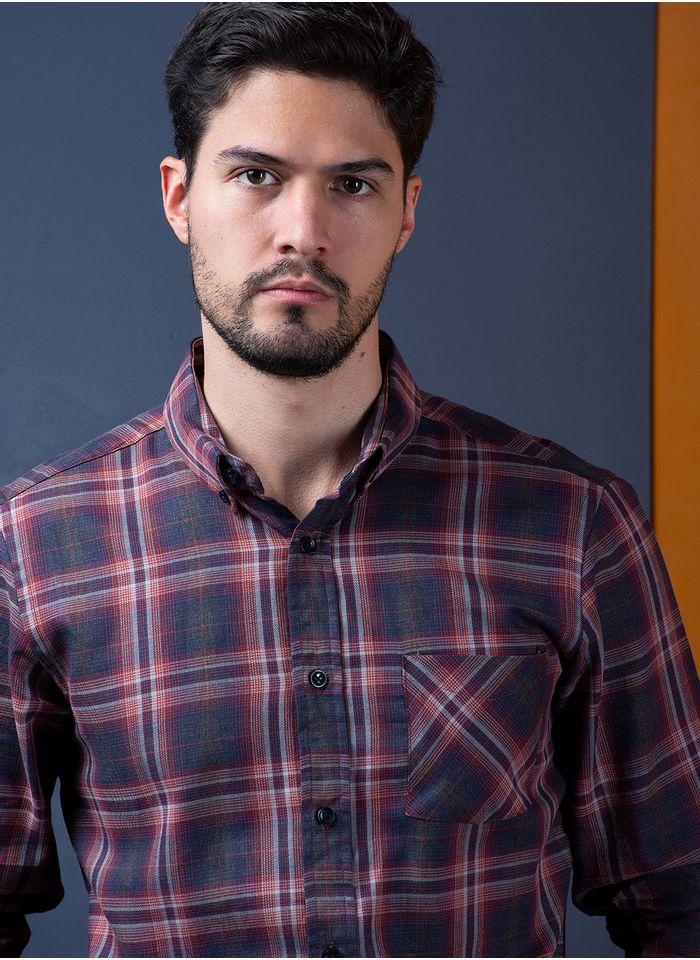 Camisa--Casual-Color-NaranjaMarca-Vermonti