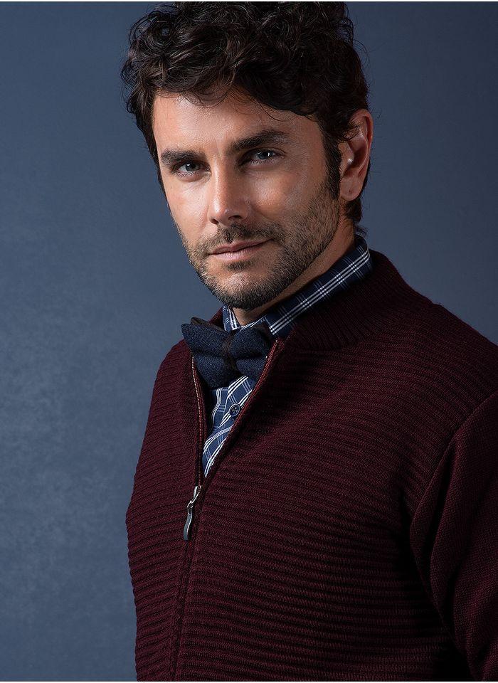 Sweater--Casual-Color-VinoMarca-Vermonti