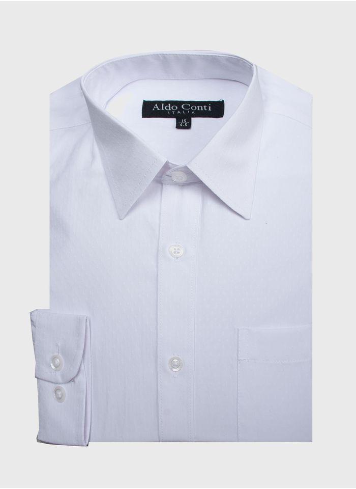 Camisa--Vestir-Color-Blanco-Marca-Aldo-Conti-Black