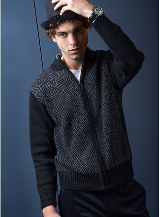 Sweater--Casual-Color-Negro-Marca-Aldo-Conti