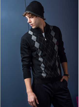 Sweater--Casual-Color-Negro-Marca-Polo-Club