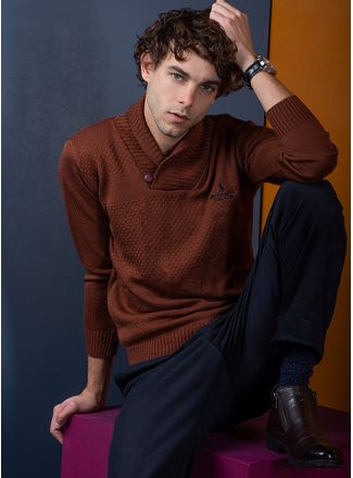 Sweater--Casual-Color-NaranjaMarca-Polo-Club
