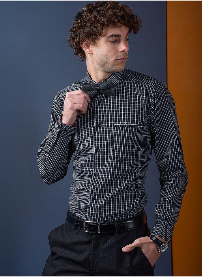 Camisa--Casual-Color-Negro-Marca-Aldo-Conti