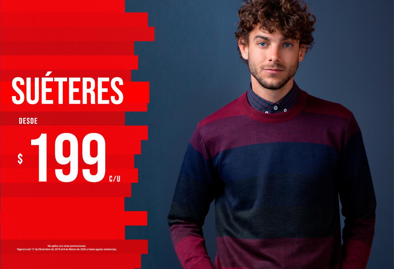 Suéteres desde