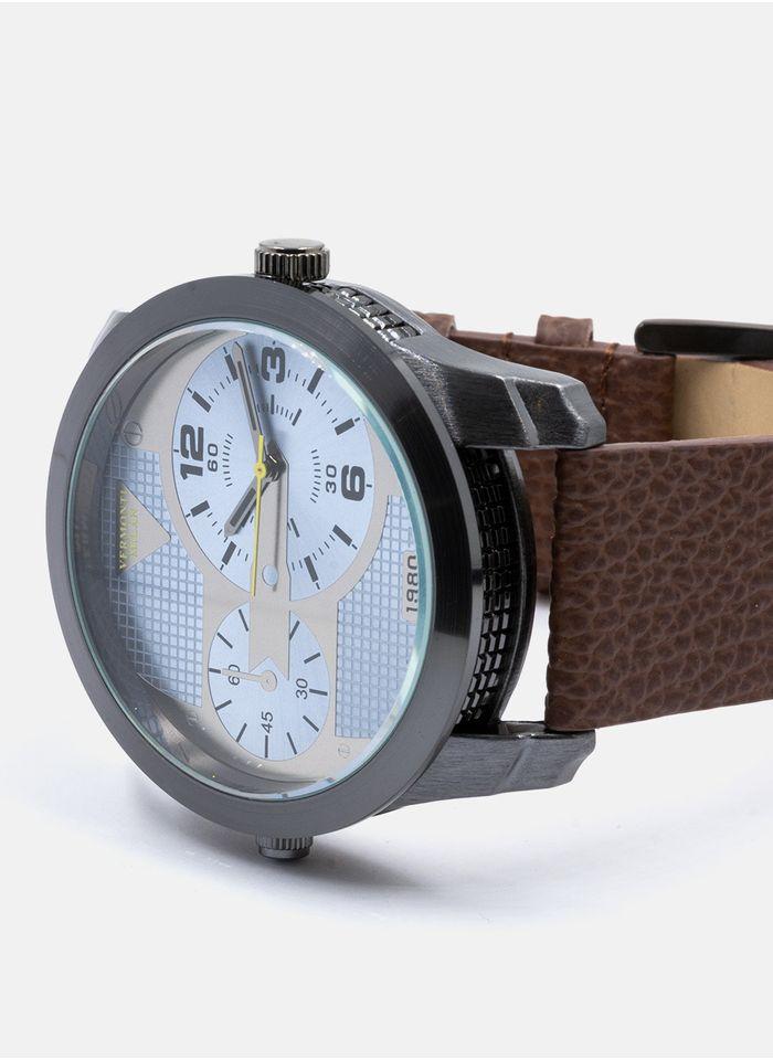Relojes--Accesorios-Color-Cafe-Marca-Vermonti.-Composicion---100-METAL