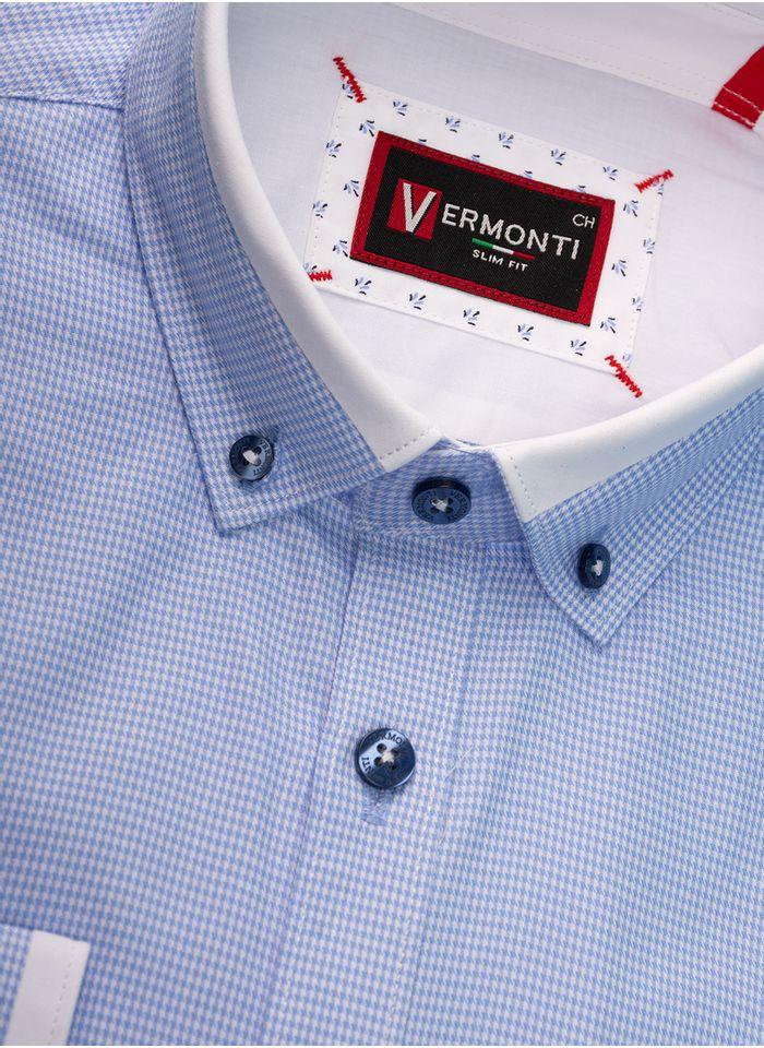 Camisa--Vestir-Color-Cielo-Marca-Vermonti-Super-Slim-Fit.-Composicion---100-ALGODON