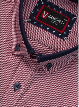 Camisa--Vestir-Color-Rojo-Marca-Vermonti-Super-Slim-Fit.-Composicion---60-ALGODON-40-POLIESTER