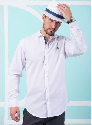 Camisa--Casual-Color-Blanco-Marca-Vermonti.-Composicion---70-ALGODON-30-POLIESTER
