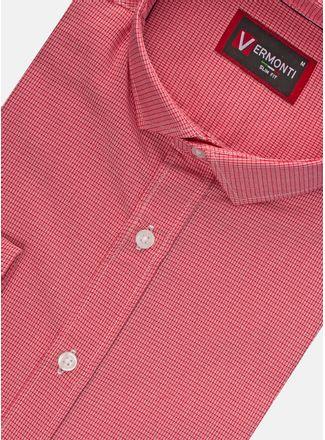 Camisa--Vestir-Color-Rojo-Marca-Vermonti-Slim.-Composicion---100-ALGODON