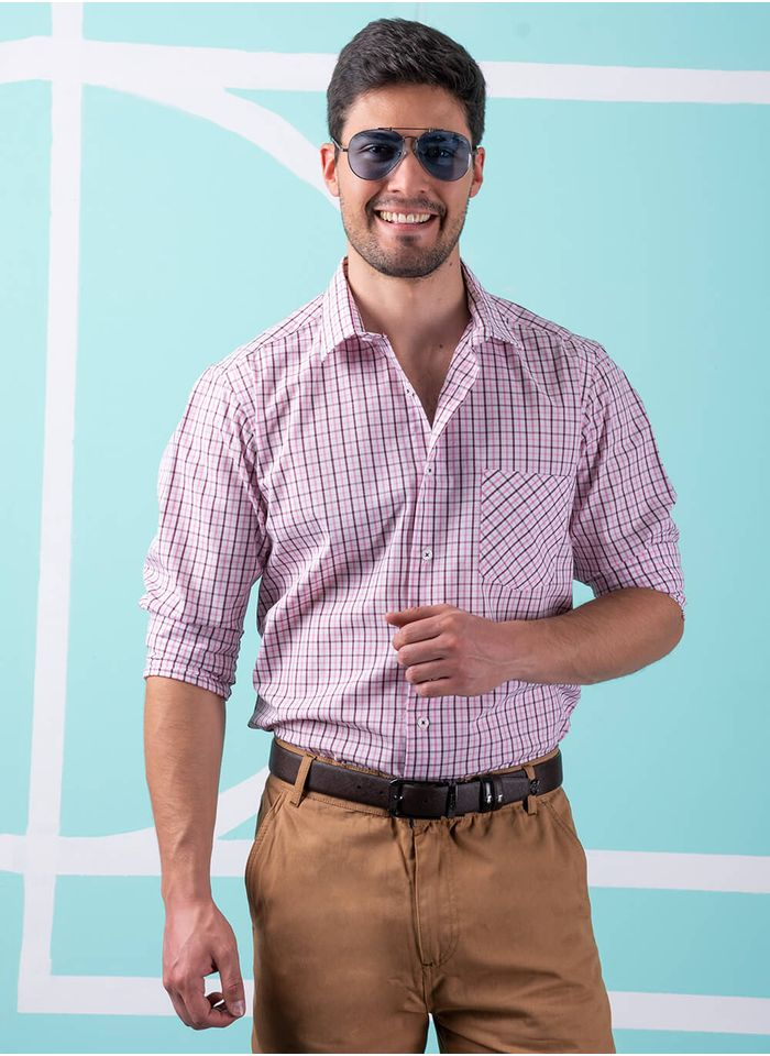 Camisa--Casual-Color-Blanco-Marca-Aldo-Conti